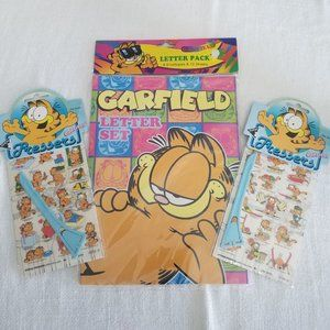 Lounge Chair Glitter Mint Condition!! Vintage Garfield Stickers